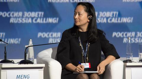 China slams 'inhumane' treatment of Huawei executive