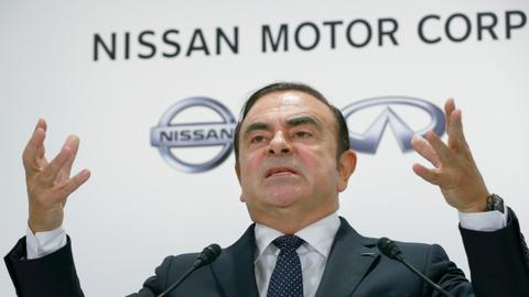 Ex-Nissan chief Ghosn charged and served with fresh arrest warrant