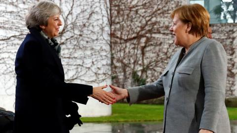 May tours Europe in bid to save Brexit deal