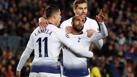 Tottenham advances to Champions League last 16