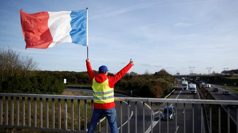 Yellow vest protester dies in France after being hit by truck