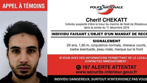 French police try to catch attack suspect dead or alive