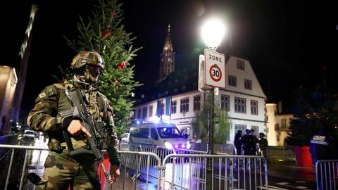 French police kill Strasbourg attack suspect