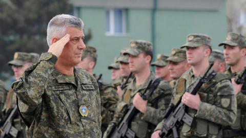 Kosovo approves new army despite Serb opposition and NATO criticism