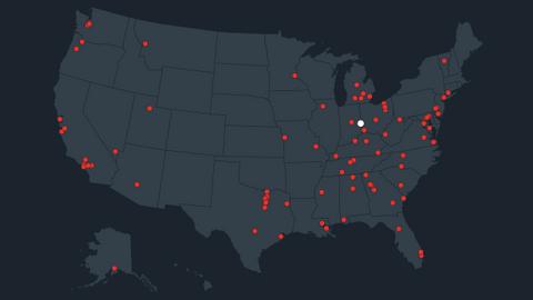 US school shootings - 2018