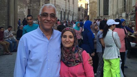 The daughter fighting to release her parents from jail in Egypt