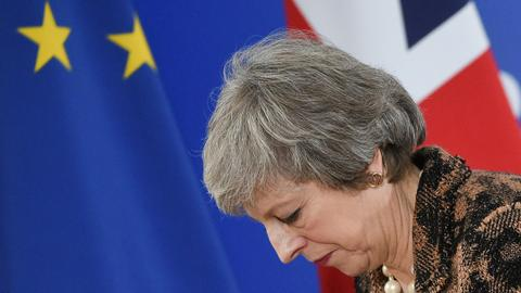 May leaves EU summit still seeking Brexit reassurance