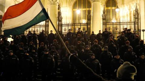 Fourth day of anti-government protests in Hungary