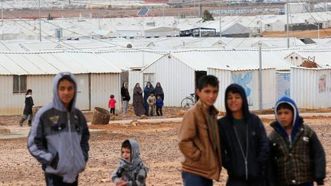 War memories haunt children orphaned in Syria war