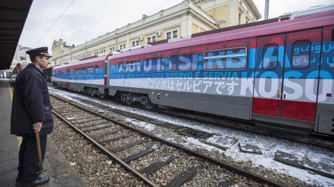 How a train nearly brought Kosovo and Serbia to the brink of war