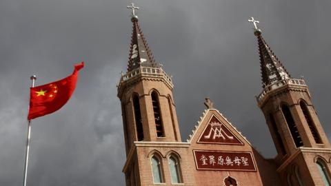 2nd Catholic bishop in China steps aside for state-approved cleric