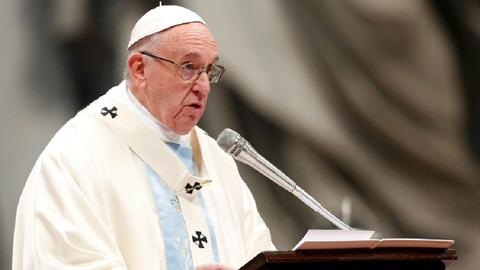 Catholic pope accepts resignation of LA bishop accused of misconduct