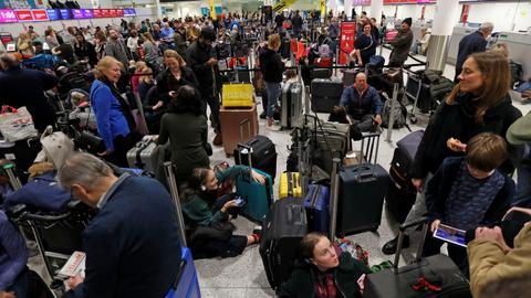 London's Gatwick airport reopens after another drone sighting