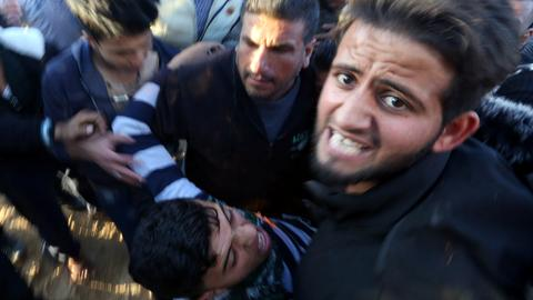 Israeli forces kill three Palestinians in Gaza protests
