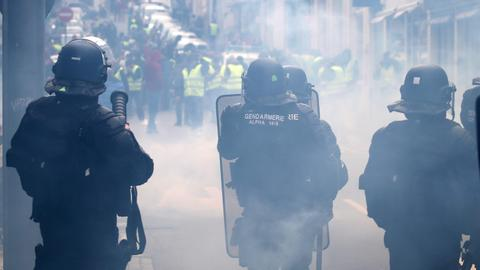 How the French protests shed new light on police brutality
