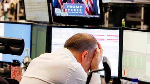 Worst week for US stocks since 2008 crisis