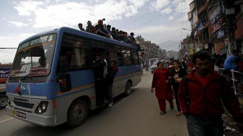 At least 23 dead in Nepal student bus crash