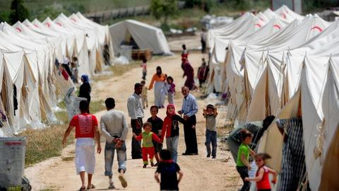 Nearly 300,000 refugees 'returned home' after Turkey's operations in Syria