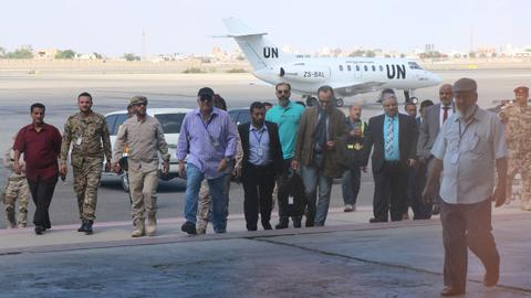 UN team arrives in Yemen to observe truce in Hudaida