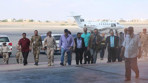 UN convenes warring sides in Yemen's Hudaida