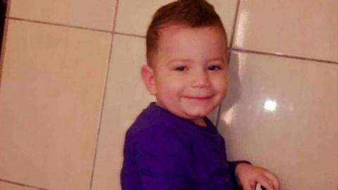 Who is responsible for the death of a three-year-old Palestinian?