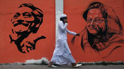 What makes Bangladesh's upcoming national election so controversial?