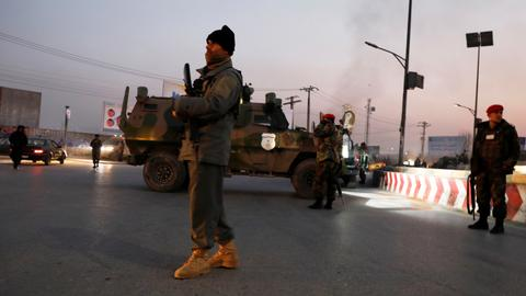 Death toll in Kabul attack rises to 43 - Afghan health ministry