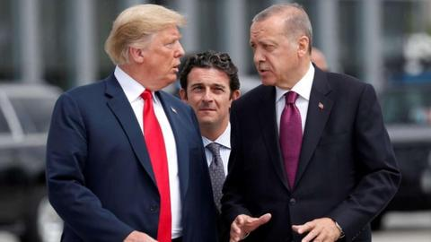 Erdogan invites Trump to visit Turkey in 2019 - White House