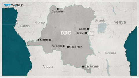 At least 27 dead after bus, truck collide in DRC