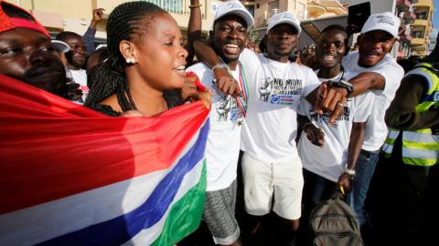 West African bloc hits pause on military action in Gambia