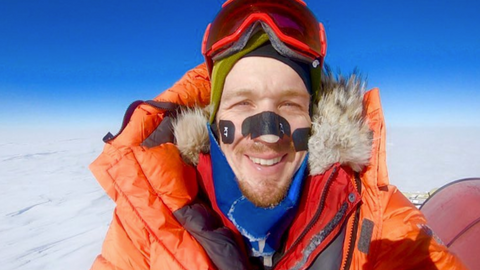 US explorer finishes historic Antarctica crossing without help