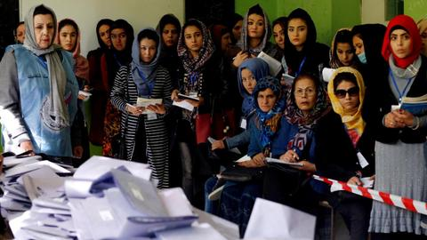 Uncertainty continues on Afghanistan's planned presidential election