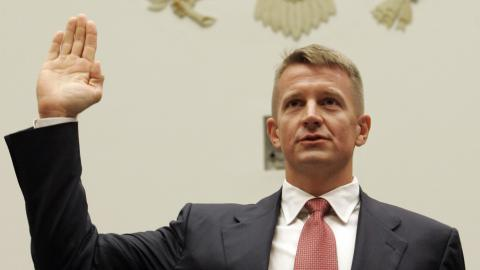 The notorious Erik Prince set to make a comeback under Trump
