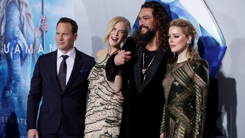 'Aquaman' makes a big splash to top N American box office