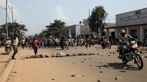 Ebola-hit eastern DRC protests after new poll delay