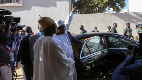 Gambia's Jammeh agrees to step down and leave the country