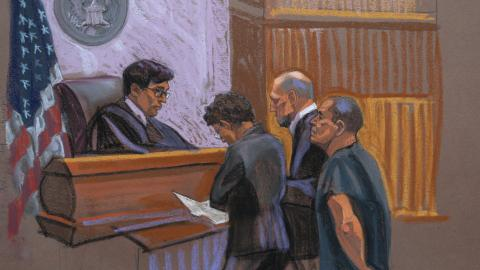 Drug lord 'El Chapo' pleads not guilty in US court