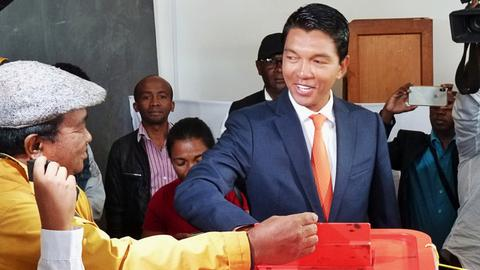 Madagascar's Rajoelina wins presidential vote, provisional results show