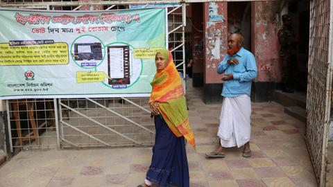Weakened Bangladesh opposition hopes for change in Sunday's election