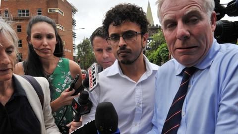 Australia Test cricketer Khawaja's brother re-arrested