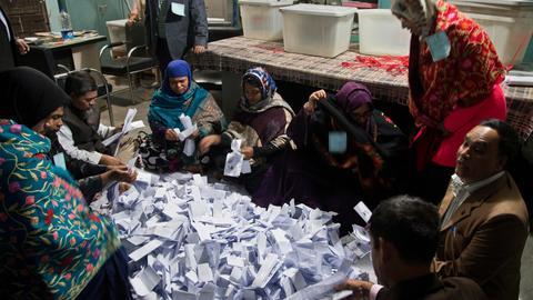 Hasina set for landslide win after deadly Bangladesh election day