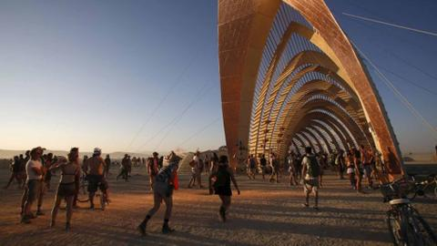 Swiss researchers studying Burning Man festival, spin-off events