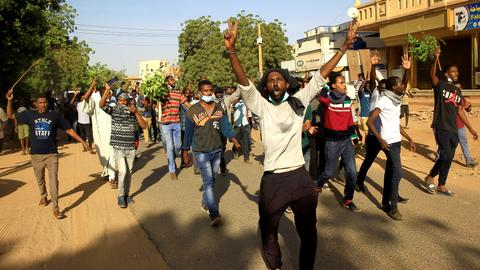 Police deploy in Sudan capital as protesters plan march
