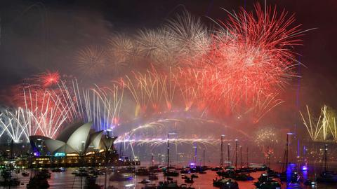 In pictures: World welcomes 2019