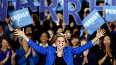 Democrat Warren enters 2020 White House race