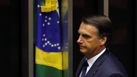Bolsonaro sworn in as Brazil's president, vows to 'strengthen democracy'