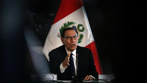 Peru's Vizcarra to ask Congress to declare emergency in corruption probe