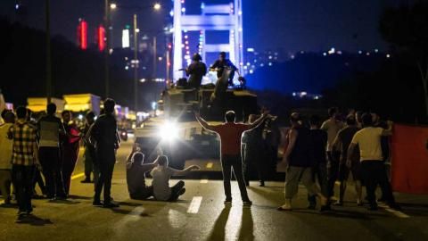 Sixty-two soldiers go on trial over the July coup attempt in Turkey