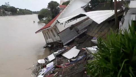Philippines death toll climbs to 85 after landslides and floods