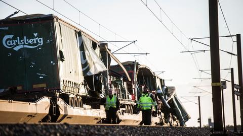 Train accident on Denmark bridge kills at least eight